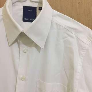Kemeja Putih Lengan Panjang Shirt