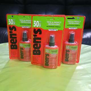 Ben's insect repellent (Water based)