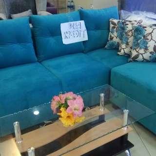 Sofa L Sudut Bisa Dicicil Tanpa CC Promo DP Ringan