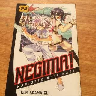 Negima 24 and 25 Manga