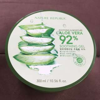 Nature Republic aloevera gel authentic