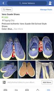 Vans Suade Shoes