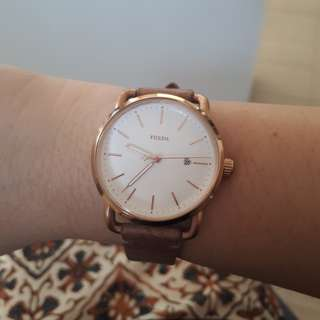 PL Fossil Rosegold - Sand leather