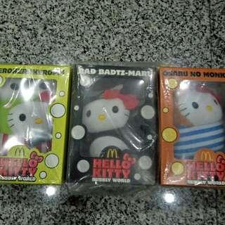 3 Pcs - BN Hello Kitty