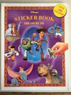 Disney's Treasury III Sticker Book