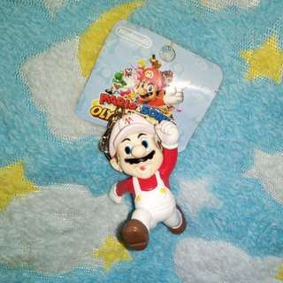 4pieces SMario characters keychain