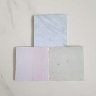 Marbles Tiles Post it Note