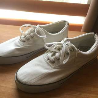Dexter White Sneaker Shoes