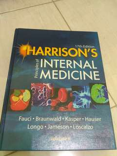 HARRISON'S Principles of Internal Medicine Volume II (17th Edition)