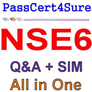 Fortinet Network Security Expert 6 NSE6 Exam Q&A+SIM