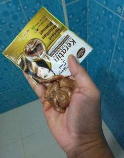 KERATIN AND COLLAGEN HAIRMASK