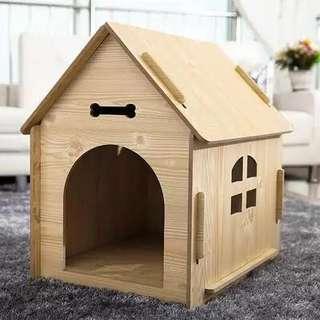 🚚 狗狗木質房子
