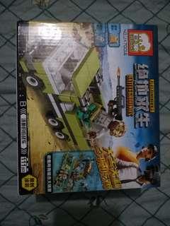 Lego type toys