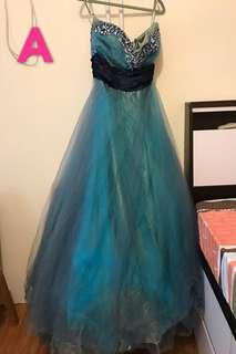 婚後物資 晚裝裙