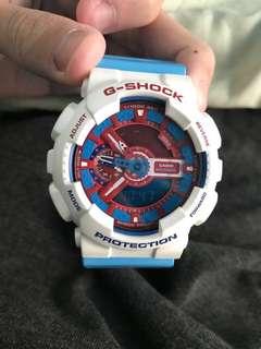 G-SHOCK手錶 美國隊長紀念版