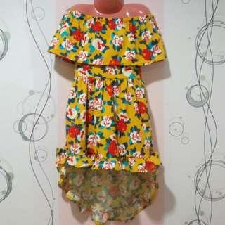 Girls Dress (Off-shoulder)