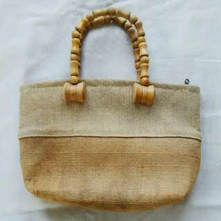 Mini Native/Knitted Hand Bag