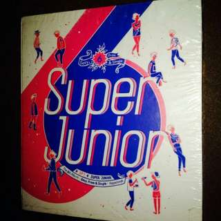 Super Junior	-	Sexy, Free & Single (6th Album) - Spy