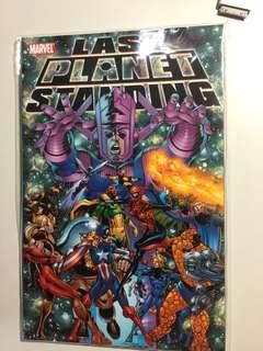 Marvel, Last Planet Standing, NM, TPB