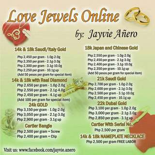 Jewelries for Sale