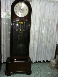 German Made Triple Chimes Grandfather Clock