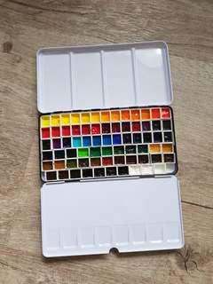 Large Tin Box Travel Palette