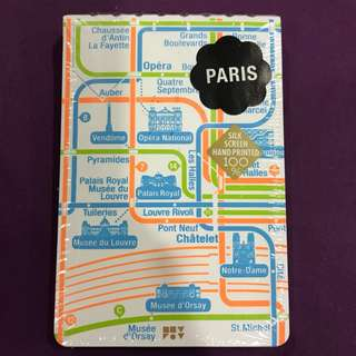Travel Notebook with city map - PARIS