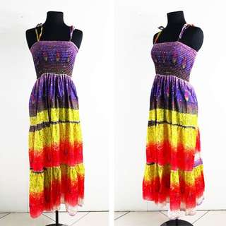 Convertible Summer Smocked Dress