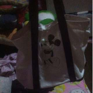 mickey mouse disney bag