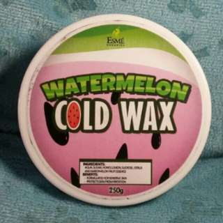 Watermelon Organic Cold Wax
