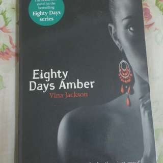 Eighty Days of Amber by Vina Jackson