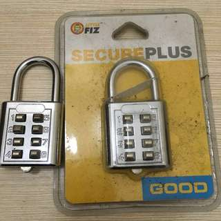 3 Pcs Secure Plus lock