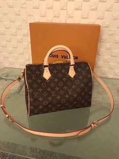 Louis Vuitton Speedy Bandouliere 30 Monogram Canvas