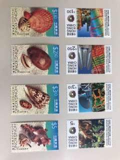 香港郵票兩套