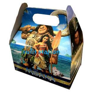 MOANA PARTY DONUT LOOT BOX BAG