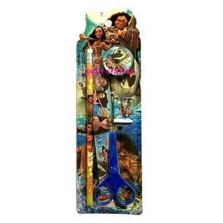 MOANA 5in1 PARTY SCHOOL GIFT SET GIVEAWAYS SOUVENIR