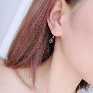 Korean Sugar cube earrings