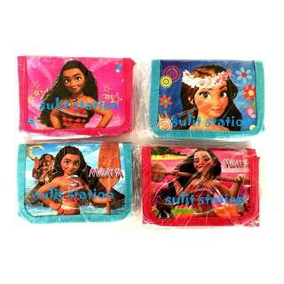 MOANA BIRTHDAY PARTY TRIFOLD WALLET SOUVENIR GIVEAWAYS ITEMS