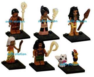 MOANA LEGO LIKE MINIFIGURES TOY FIGURE