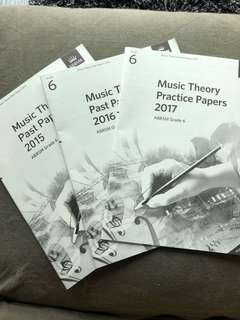 ABRSM Theory Practice Papers Grade 6