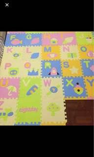 ABC foam play mat