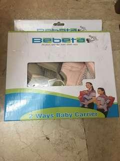 Bebeta 2 Ways Baby Carrier