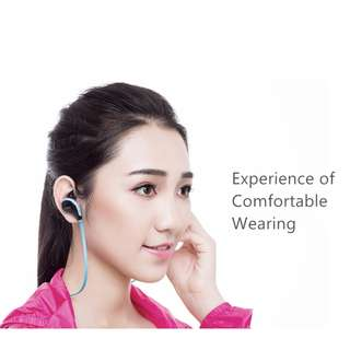 Joway H12 Bluetooth Headphones V4.1 Wireless Sport Stereo In-Ear Noise Cancelling Sweatproof Comfortable Headset with Mic for Ipad PC Iphone and Other Bluetooth Devices
