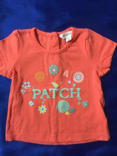 4 for $10! Baby Girl Tops, Size <1Y