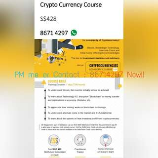 Crypto Currency Course