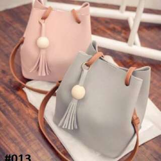 Korean Bag / also avail in Black, Navy Blue and Brown