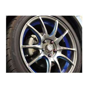 20 inch SPORT RIM WedsSport SA55M RACING WHEELS