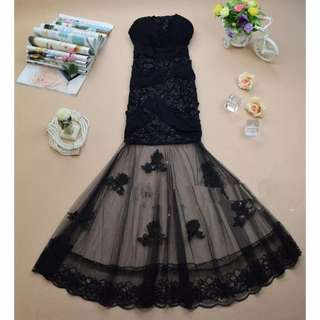 Lace Black Lolita Dress #Easter20