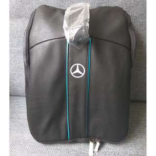 Mercedes-Benz ventilated golf shoe bag