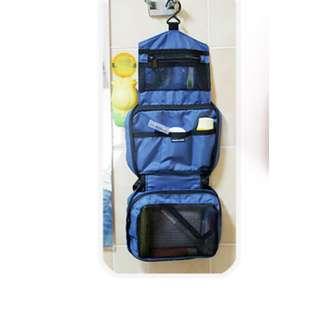 Travel Mate toilet organizer bag kosmetik piknik travelling - HHM073 - Biru